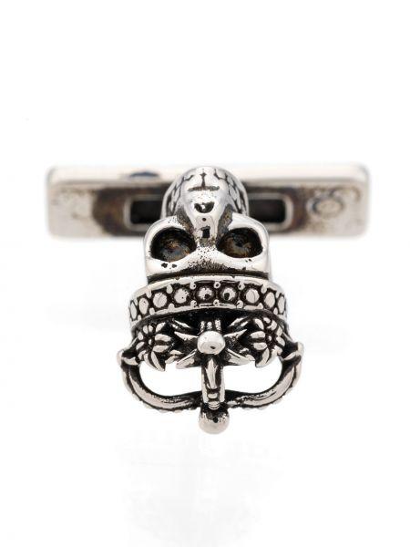 Spinka do mankietów ze srebra guzki Alexander Mcqueen
