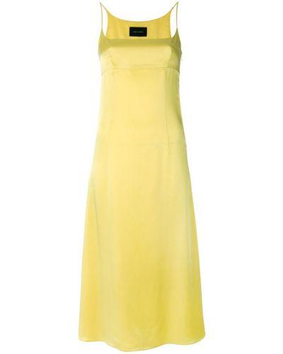 Платье миди платье-комбинация из вискозы Cédric Charlier