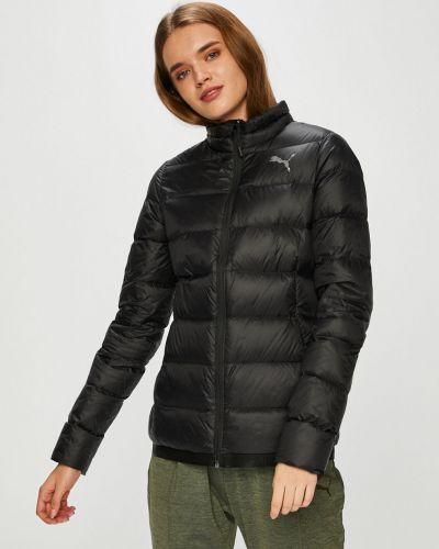 Утепленная куртка с карманами черная Puma