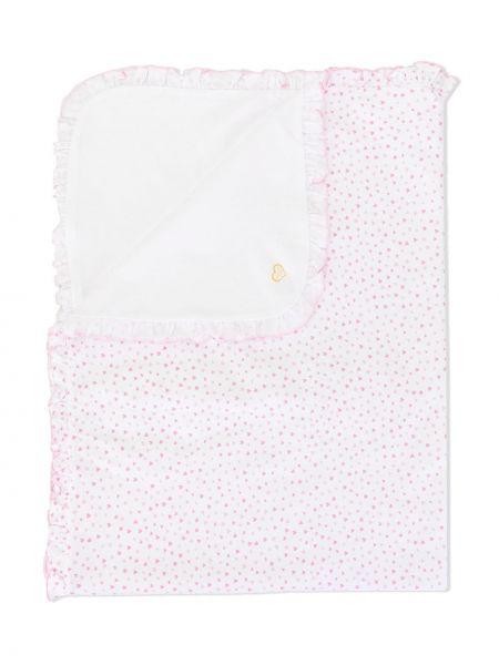 Облегченная ватная хлопковая белая сумка Kissy Kissy