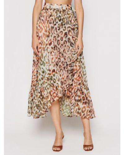 Długa spódnica - brązowa Guess