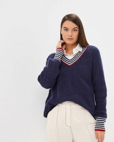 Синий пуловер 2018 Sweewe