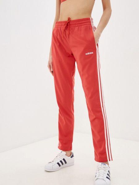 Спортивные брюки весенний красный Adidas