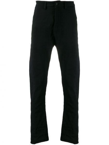 Черные деловые брюки на пуговицах с карманами Poème Bohémien