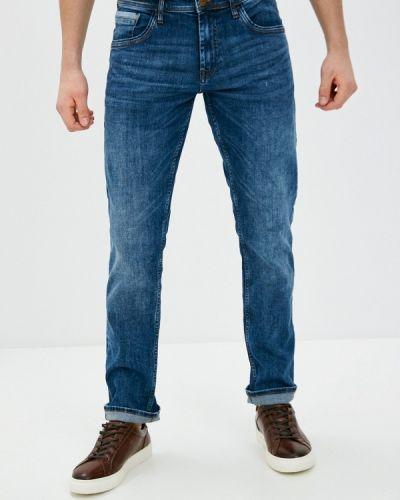 Синие зауженные джинсы-скинни Blend