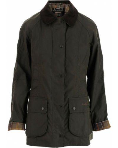 Zielony płaszcz Barbour