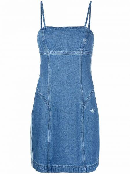 Джинсовое платье - синее Adidas