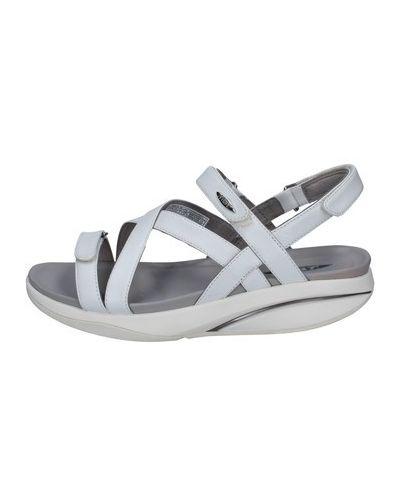 Białe sandały Mbt