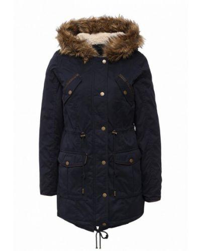 Зимняя куртка весенняя синий Alcott