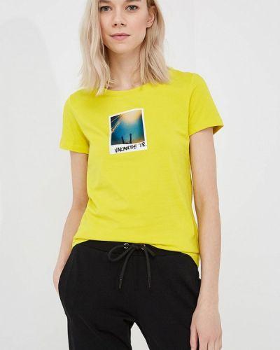 Желтая футболка Bikkembergs