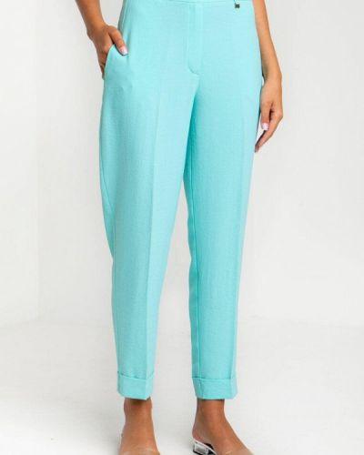 Повседневные бирюзовые брюки Das