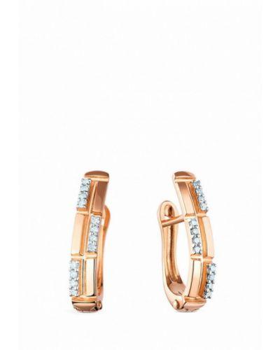 Золотые серьги золотые Kimberli