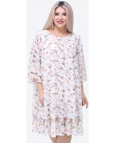 Белое вечернее платье Luxury Plus