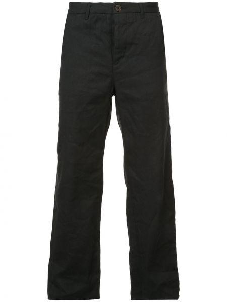 Черные прямые брюки новогодние Individual Sentiments