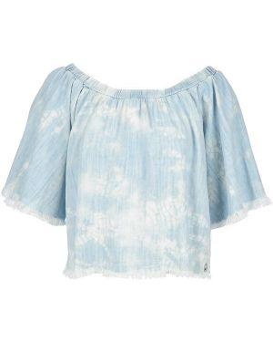 Блузка с открытыми плечами Met
