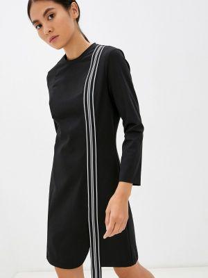Платье футляр - черное Bikkembergs