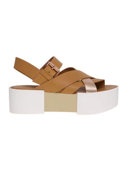 Brązowe sandały Vic Matie
