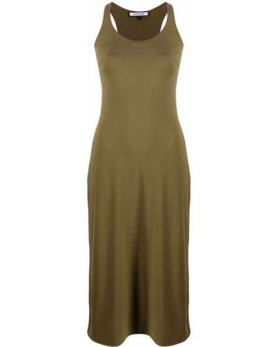 Zielona sukienka bez rękawów Fisico