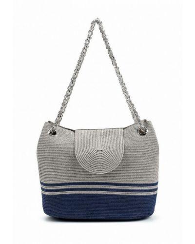 Серая пляжная сумка Fabretti