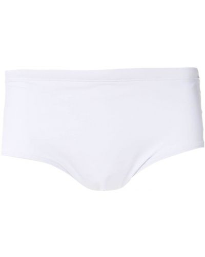 Белые плавки с подкладкой Amir Slama