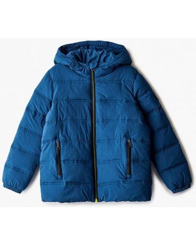 Теплая синяя куртка Ea7