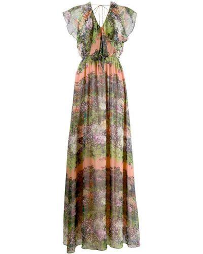 Платье макси на молнии эластичное Ailanto