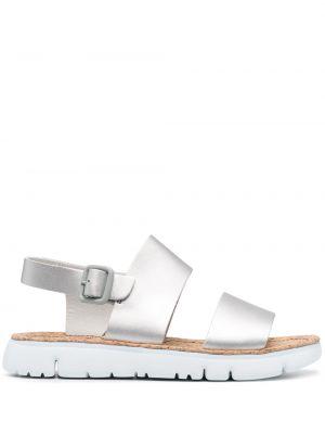 Открытые кожаные с ремешком сандалии Camper