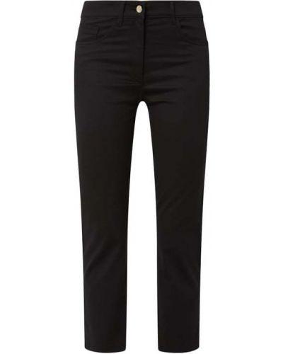 Czarne jeansy bawełniane Zerres