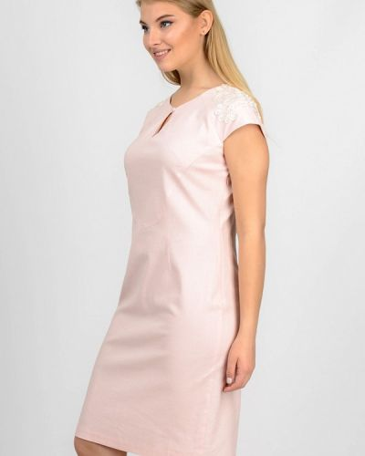 Розовое платье мини Raslov