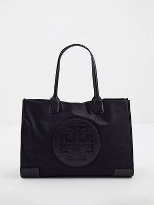 Черная зимняя сумка Tory Burch