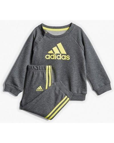 Спортивный костюм серый Adidas