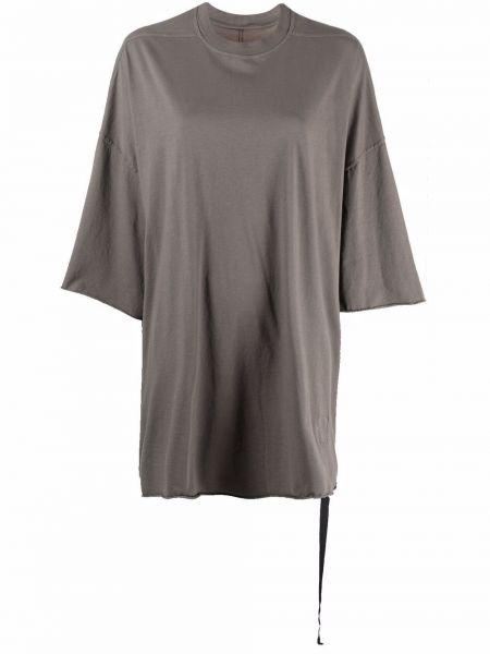 Прямая футболка Rick Owens Drkshdw