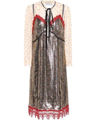 Платье с завышенной талией зимнее Coach