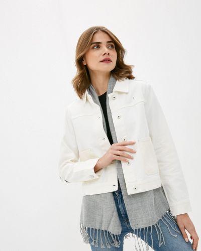 Белая джинсовая куртка Scotch&soda