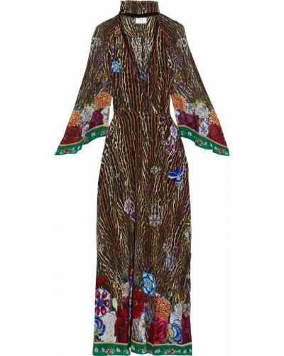 Шифоновое платье макси Camilla