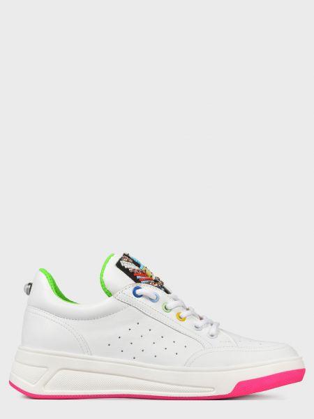 Кожаные кроссовки - белые Helena Soretti