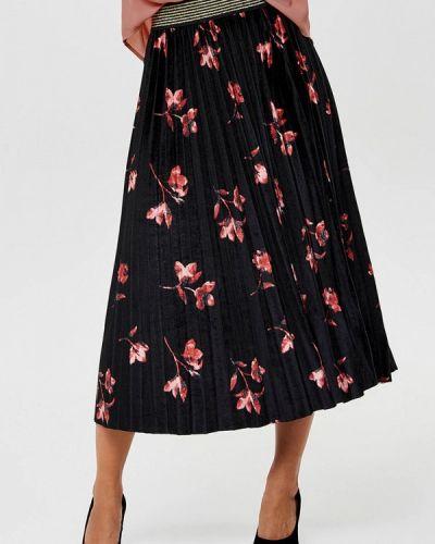 Плиссированная юбка осенняя Only