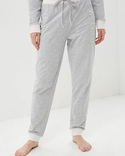 Спортивные брюки серые весенний Nymos