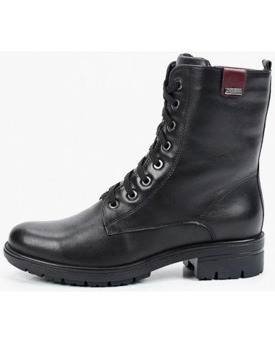 Черные демисезонные ботинки Francesco Donni