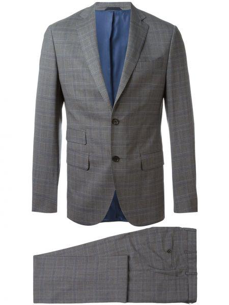 Wełniany garnitur z paskiem Fashion Clinic Timeless