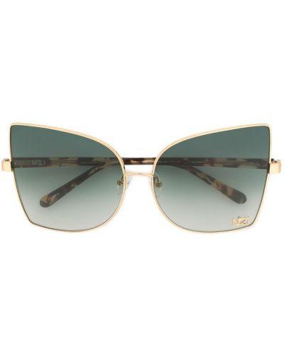 Солнцезащитные очки с градиентом серые N21