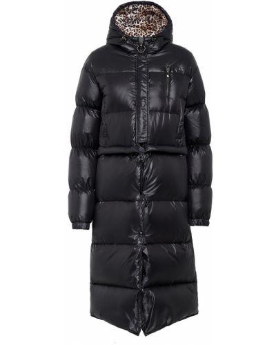 Пальто с капюшоном длинное стеганое Philipp Plein