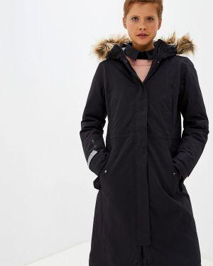Зимняя куртка черная осенняя Helly Hansen