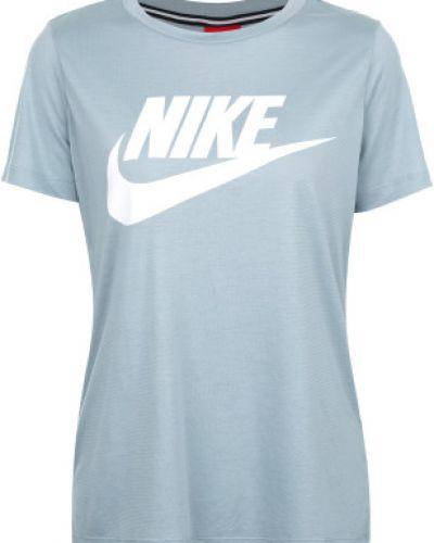 Спортивная футболка прямая из вискозы Nike