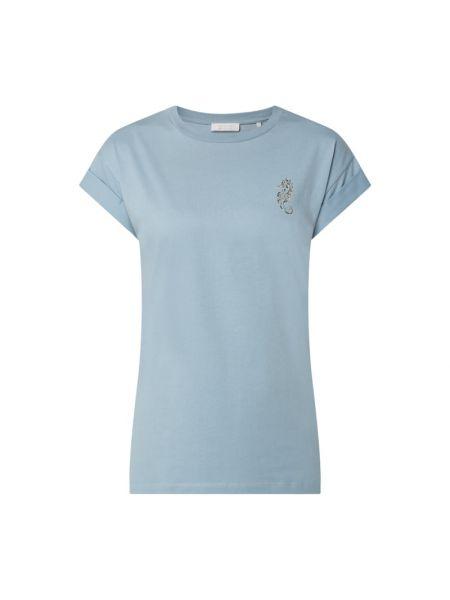 T-shirt bawełniana - niebieska Rich & Royal