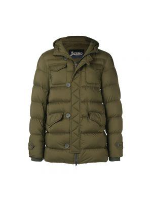 Płaszcz z kapturem wojskowy od płaszcza przeciwdeszczowego Herno