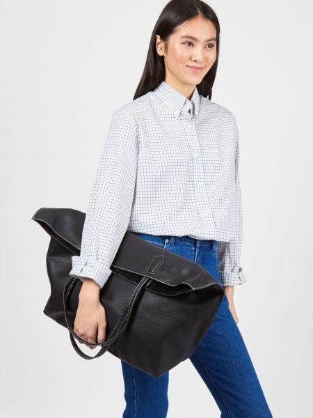Кожаная сумка шоппер большая 12storeez