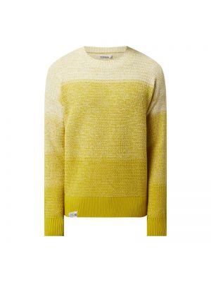 Sweter bawełniany - żółty Napapijri