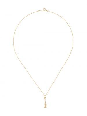 Złoty naszyjnik pozłacany Bar Jewellery