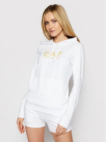Biały dres Ea7 Emporio Armani
